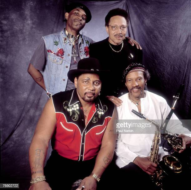Neville Brothers on 4/27/85 in New Orleans, La. In Various Locations,
