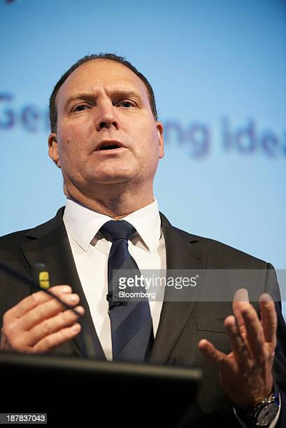 Neville 'Nev' Power chief executive officer of Fortescue Metals Group Ltd speaks during the company's annual general meeting in Perth Australia on...