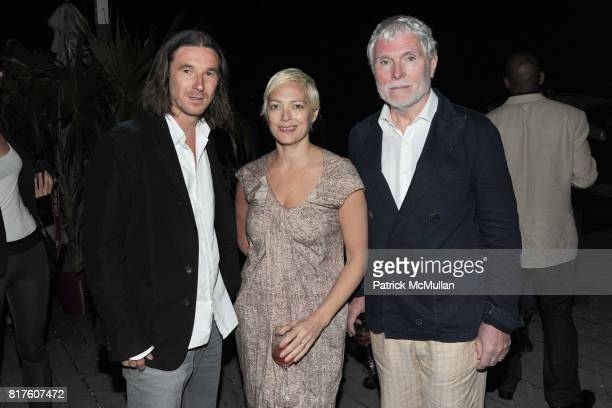 Neville Wakefield Gina Nanni and Glenn O'Brien attend Playboy presents the NUDE IS MUSE An Art Salon for Art Basel Miami 2010 at The Standard Hotel...
