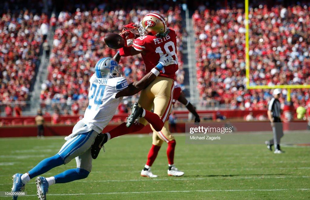 Detroit Lions v San Francisco 49ers : News Photo