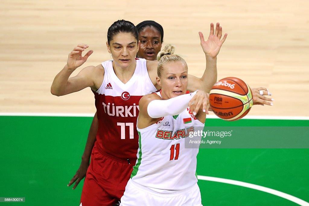 Turkey vs Belarus: Rio 2016 Olympic Games women's : News Photo