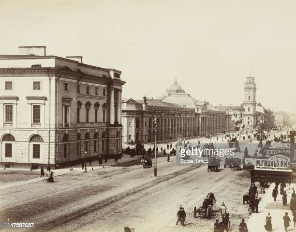Nevsky Prospekt, the main street in St. Petersburg, Russia, Anonymous, Henry Pauw van Wieldrecht, 1898