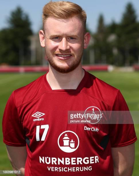 New 1. FC Nuremberg recruit, Sebastian Kerk, during the Club's kick-off of training at the Max Morlock Square in Nuremberg, Germany, 20 June 2017....