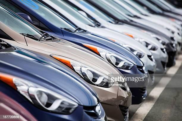 New 2013 Hyundai Elantra Vehicles in a Row