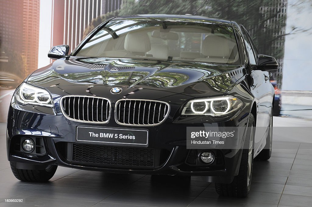 Launch Of BMW Series Car In India Photos And Images Getty Images - Bmw 2014 5 series price