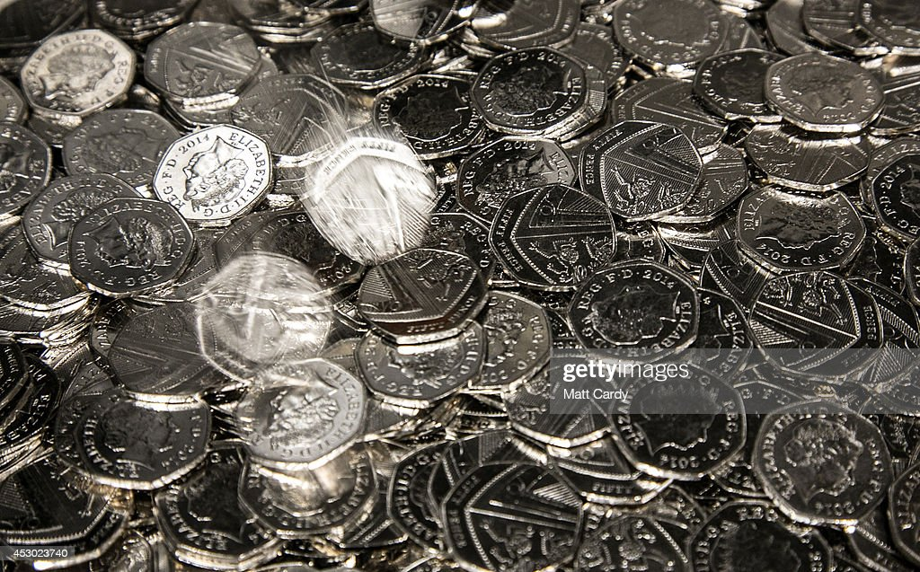 Production At The Royal Mint : News Photo