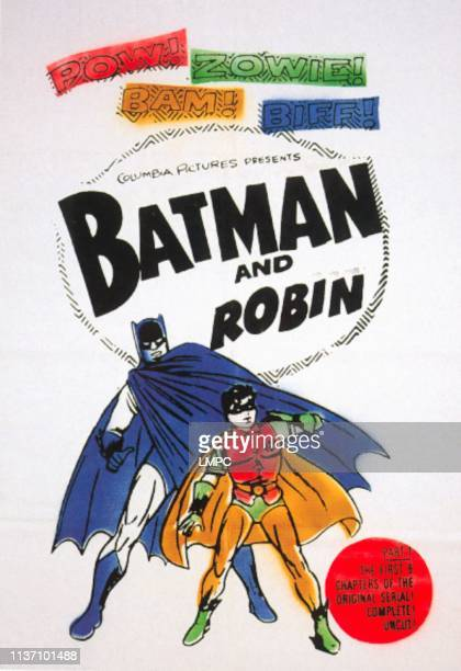 New Adventures Of Batman And Robin, poster, Robert Lowery, John Duncan, poster art for 1966.
