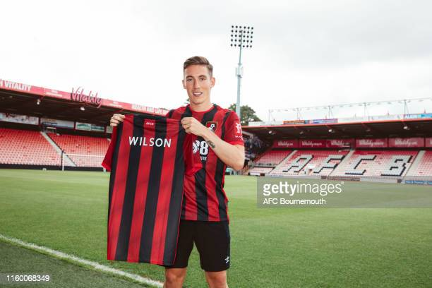 New AFC Bournemouth signing Harry Wilson is unveiled at Vitality Stadium on August 6 2019 in Bournemouth England