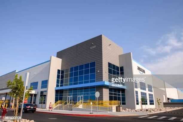 new amazon fulfillment center in henderson nevada usa - community logo stock pictures, royalty-free photos & images
