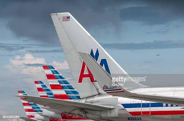 neuen american airlines - american airlines stock-fotos und bilder