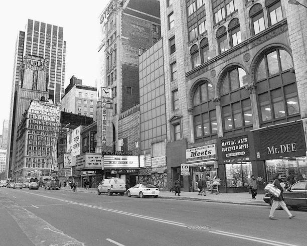 New Amsterdam Theater on West 42nd St., Times Square, New Yo