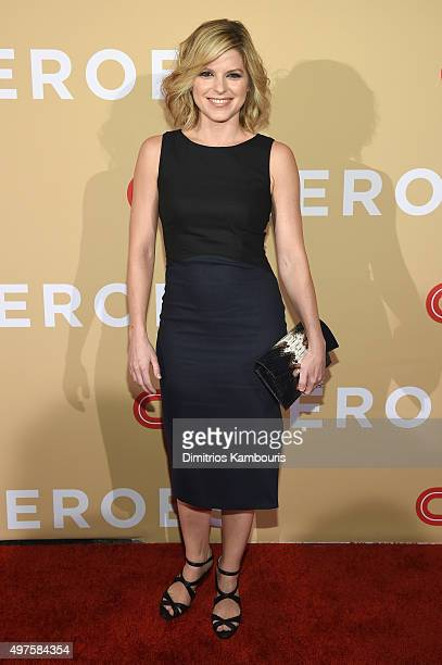 New Anchor Kate Bolduan attends CNN Heroes 2015 Red Carpet Arrivals at American Museum of Natural History on November 17 2015 in New York City...