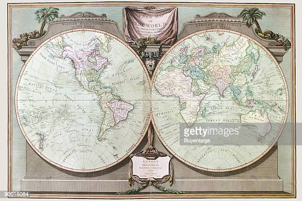 A new and elegant imperial sheet atlas comprehending general and particular maps of every part of the world principally compiled from the great...