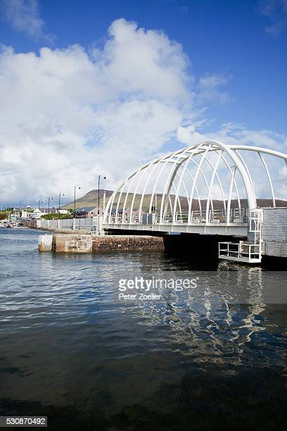 New And Modern Achill Sound Bridge; Achill Island, County Mayo, Ireland