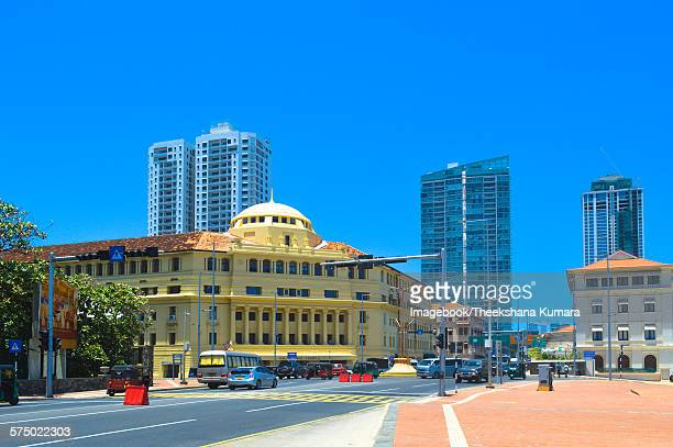 New and old architecture blend on Galle Road