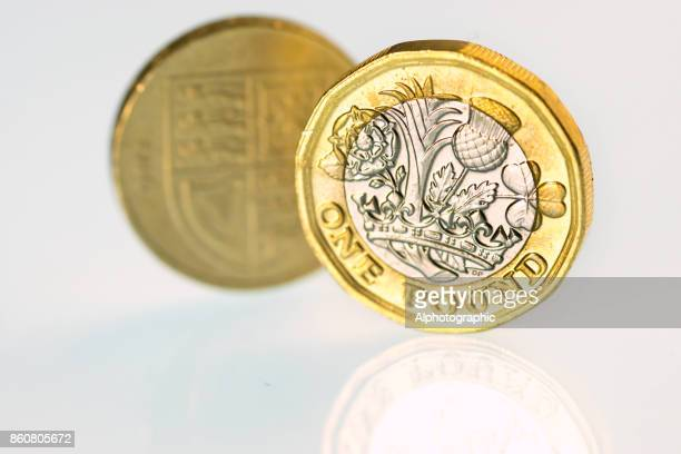 New and old pound coins