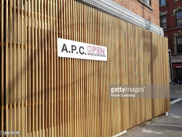 New A.P.C. Store opens in the West Village in New York. The wooden slats sheathing the exterior make it feel like it's under construction, yet the...