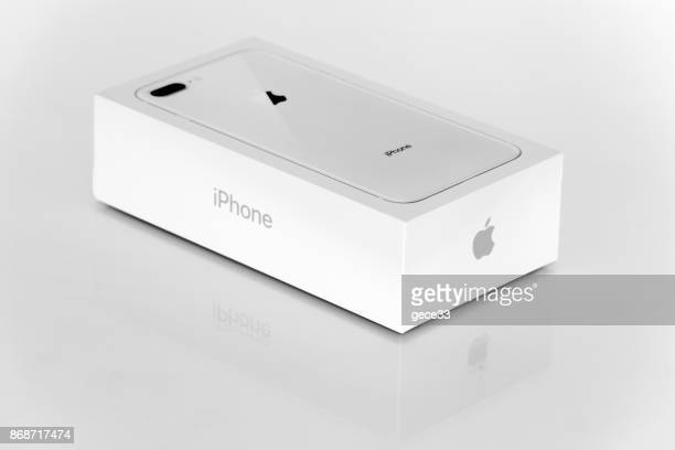 New Apple iPhone 8 Plus Silver unboxing