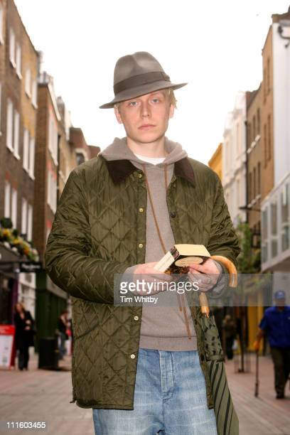 New artist Mr Hudson at a photocall in London today after signing a new record contract with Mercury Records to promote this years City showcase at...