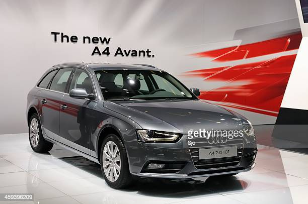 new audi a4 avant - audi a4 stock photos and pictures