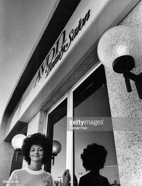 New Avon Beauty Salon Mrs Kathryn Hartmann manager stands at the entrance of the salon at 1400 Leyden St The salon one of six opened in the Denver...