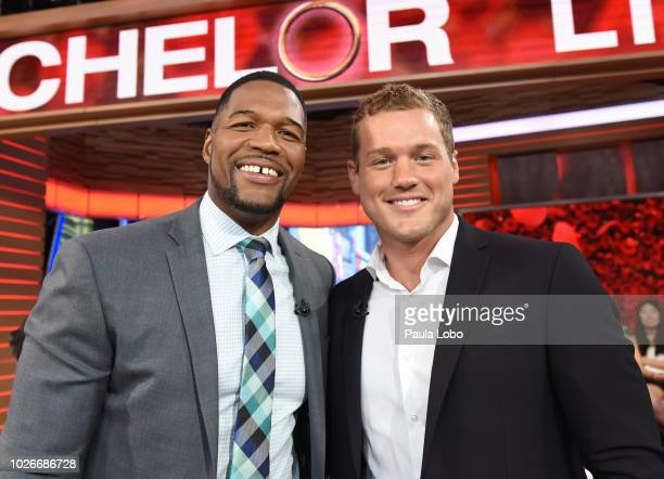 AMERICA New Bachelor Colton Underwood is introduced on Good Morning America on Tuesday September 4 2018 airing on the Walt Disney Television via...