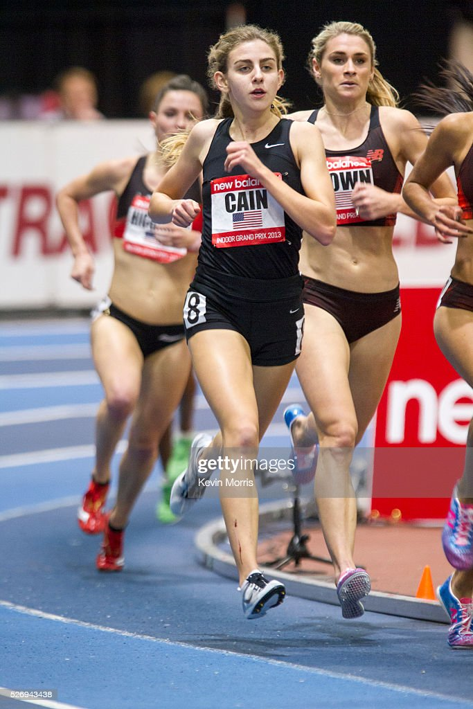 Mary Cain races Two Mile Indoors Pictures | Getty Images