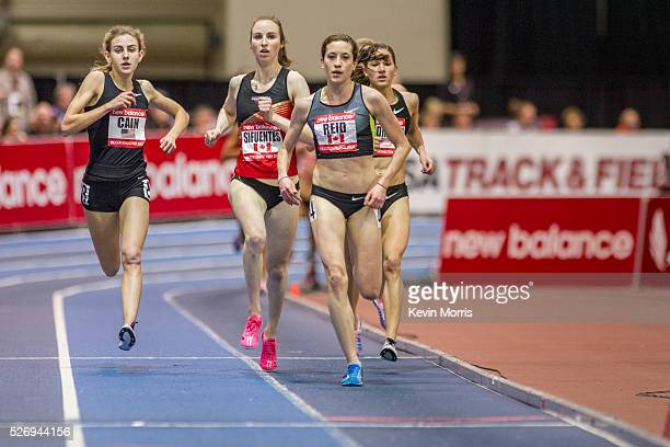 New Balance Indoor Grand Prix Track and Field Mary Cain Nike Oregon Project races Two Mile event sets new American High School record