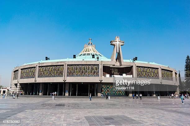 nueva basílica de nuestra señora de guadalupe en la ciudad de méxico - festival de la virgen de guadalupe fotografías e imágenes de stock