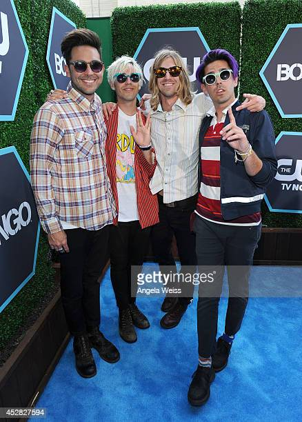 New Beat Fund attends the 2014 Young Hollywood Awards brought to you by Samsung Galaxy at The Wiltern on July 27 2014 in Los Angeles California