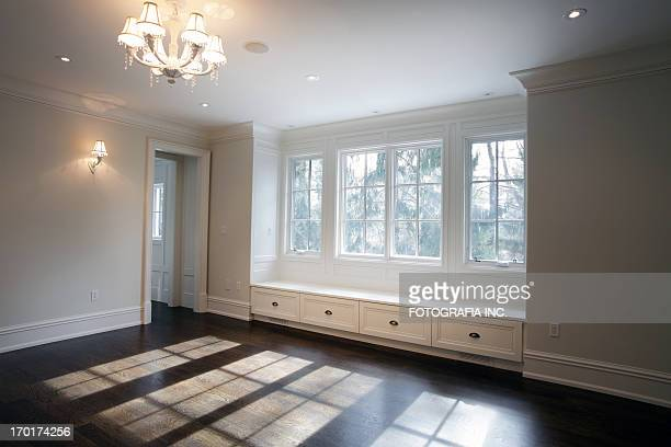 new bedroom - wainscoting stock photos and pictures