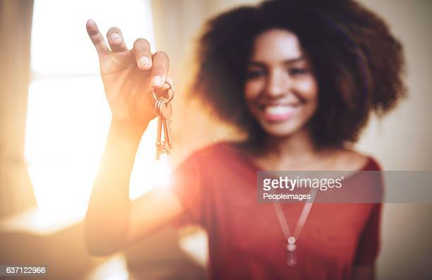 new beginnings... - house key stock photos and pictures