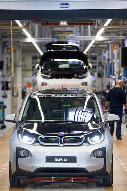 Bmw Launches I3 Electric Car Production Photos And Images Getty Images