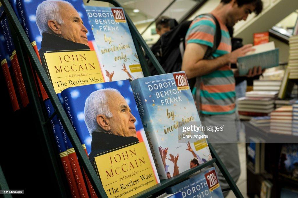Sen. John McCain  Releases New Book