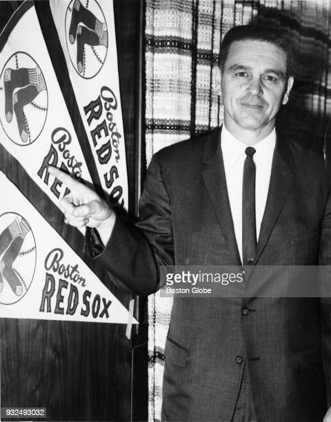 New Boston Red Sox manager Dick Williams Sept 28 1966