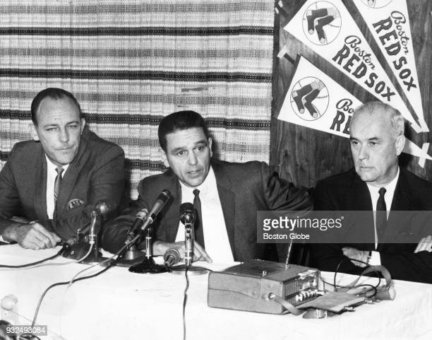 BOSTON MA FEBRUARY 28 New Boston Red Sox manager Dick Williams Sept 28 1966