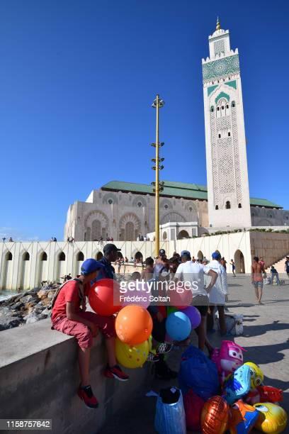 New bridge in Casablanca on June 20, 2019 in Casablanca, Morocco.