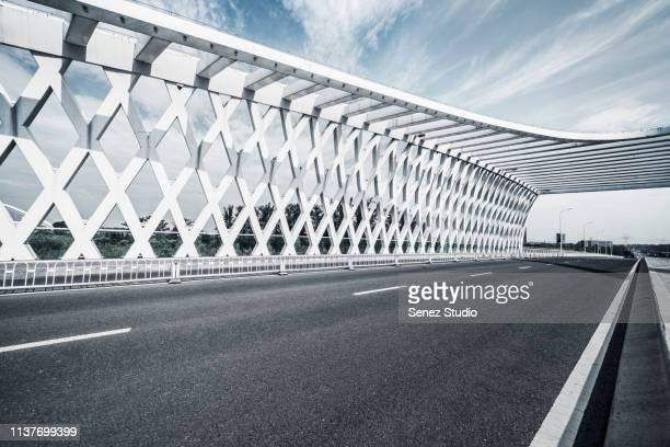 new bridge of wenyu river - 不在 ストックフォトと画像