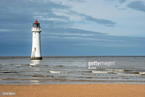 new brighton lighthouse - brighton stock photos and pictures