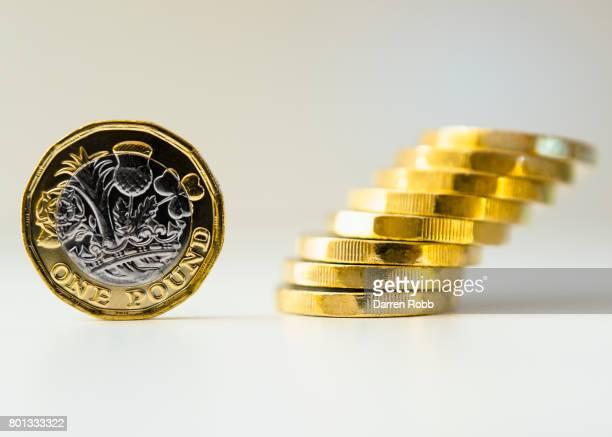 New British One Pound Coins