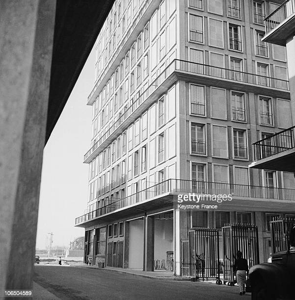 New Building On November 15Th 1953 At Le Havre Town Center That Was Ravaged By English Bombing In 1944 Leaving 80000 People Homeless The Architect...