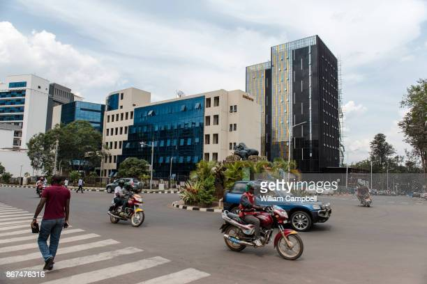 New buildings in downtown Kigali the capital of Rwanda Since the 1994 genocide that killed at least 800000 Rwanda has experienced unprecedented...