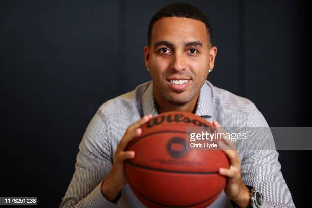 New Bullets owner and former NBA player Kevin Martin poses during a Brisbane Bullets NBL media opportunity at QSAC on October 01 2019 in Brisbane...