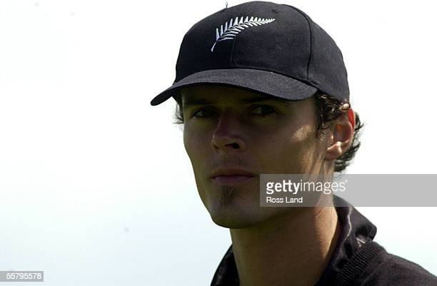 New cap Chris Martin during the first one day cricket international between The Black Caps and Zimbabwe at Owen Delany Park Taupo Tuesday Zimbabwe...