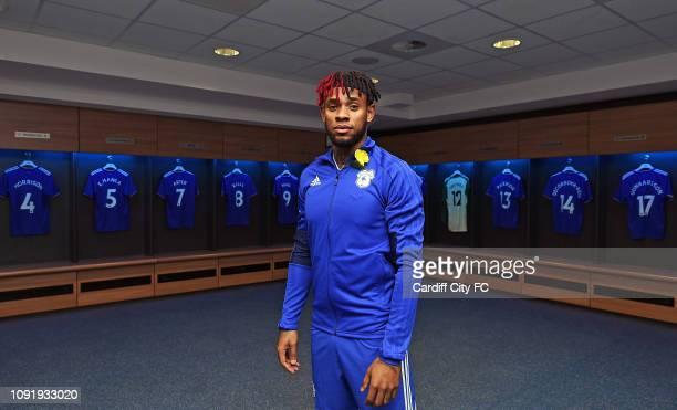 New Cardiff City signing Leandro Bacuna at Cardiff City Stadium on January 31, 2019 in Cardiff, United Kingdom.