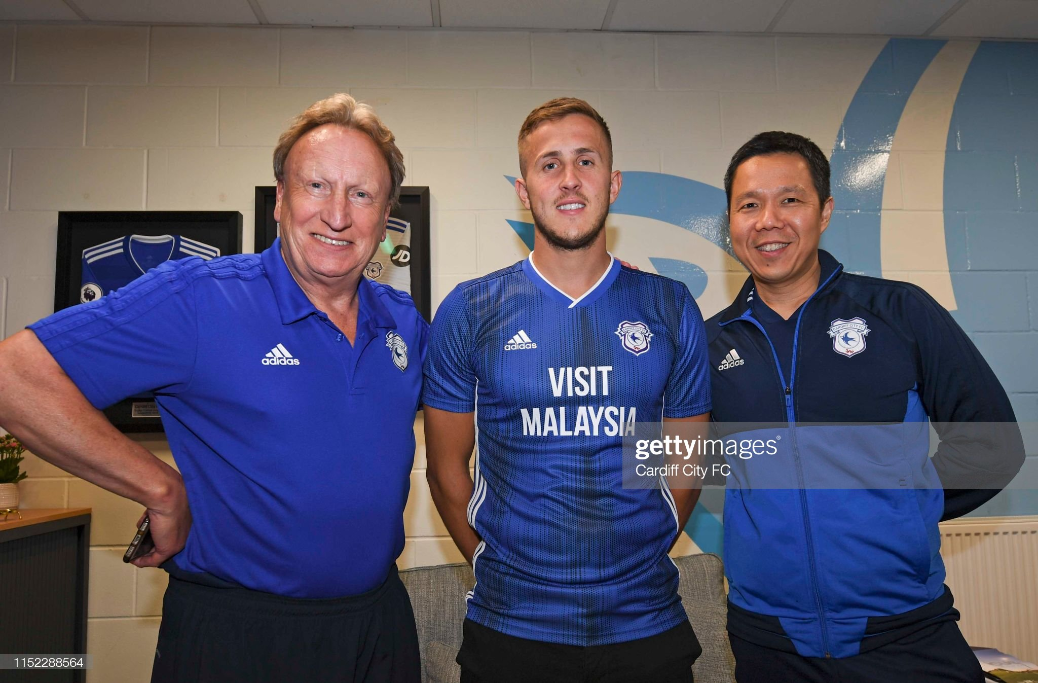 Cardiff City New Signings : News Photo