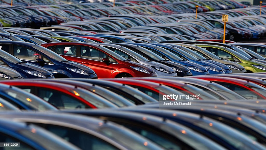New Car Sales Down By 36.8 Percent Photos and Images | Getty Images