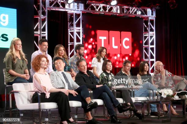 New cast members Joanie Sprague John Gidding Sabrina Soto Brett Tutor and Kahi Lee and original cast members Laurie Smith Vern Yip Douglas Wilson...