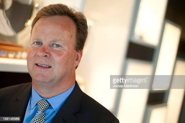 New CEO of Australian Rugby Union Bill Pulver poses for a photograph during an ARU press conference at ARU Headquarters on January 9 2013 in Sydney...