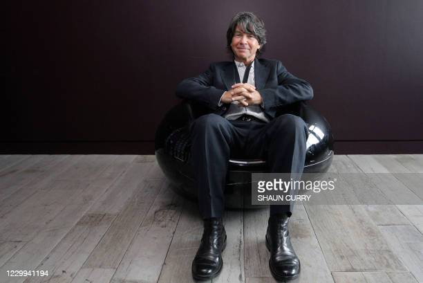 New Children's Laureate, British author and illustrator Anthony Browne, poses for photographs in central London on June 9, 2009. Browne was announced...